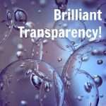 Brilliant Transparency!
